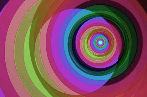 spirale-arcobaleno-sfondo-vettoriale_73405